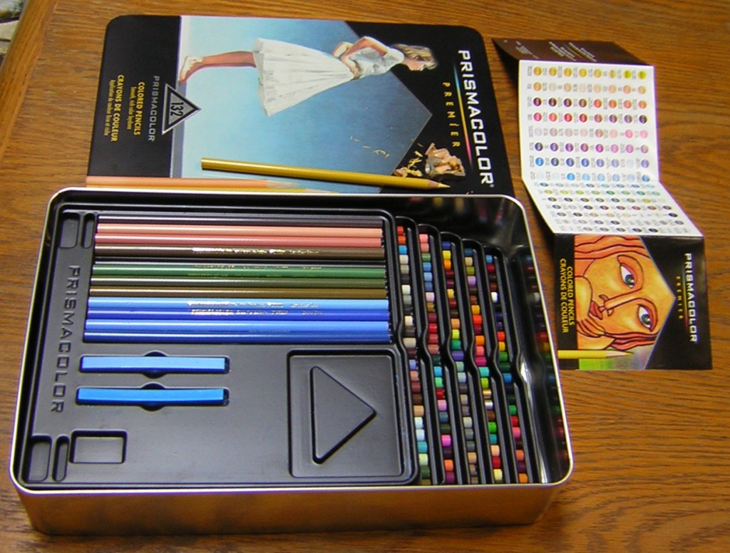 The Big Prismacolor Box - 132 colors!